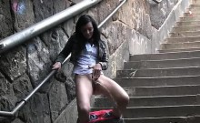 Teens pissing in parking lots and on the streets