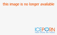 Sexy blonde milf fucked in storage room
