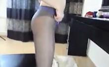 Mature Slut With Nylons On