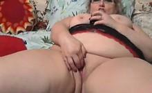 Large Grandmother Masturbating