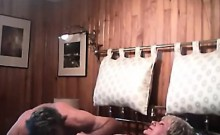 Large Breasted Nana Gets Her Cunt Licked Till Climax