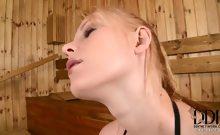 Horny Jennifer sucks cock POV!