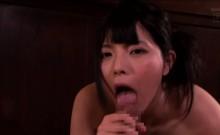 Asian Ai Uehara get savage by huge dick