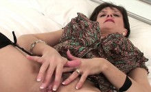 Unfaithful english milf lady sonia presents her massive hoot