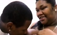 Pregnant ebony hooker gets paid to get fucked by BBC