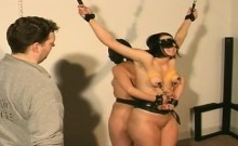 Two Curvey Broads Get Bound Together And Played With