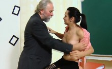 Erotic Schoolgirl Gets Seduced And Pounded By Her Older Teac