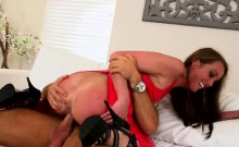 Red Latex Slut Aria Xcite Fucking Doggy Style In Kitchen