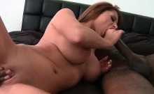 Gorgeous mom twat black smashed doggy style