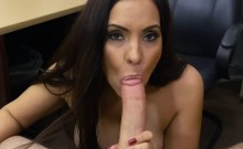 Amateur latina Sophie Leon gets banged