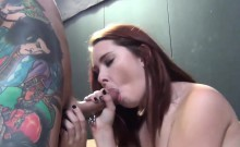 Hot redhead Melody Jordan gets shagged