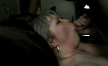 Adult BBW partner that is mature take black cum that is sma