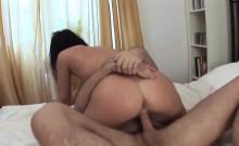 Cute Liana has her orgasmic pussy pumped