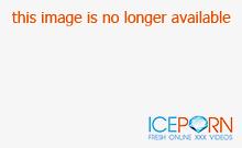 Slutty blonde in threesome