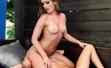 Hot Lesbian Lawyers Play With Each Others Cunt