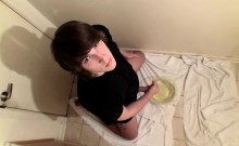 Hot and horny skater boy Jay Marx fires off a powerful piss