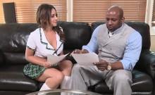 Black Teacher Pounds A Hot Schoolgirl