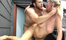 Gianna Using Her Big Boobs In A Hot Titty Fuck Outdoors
