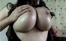 Just Some Huge Ass Tits On XcamsXx.