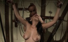 Redhead Ties and Dominates Her New Slave