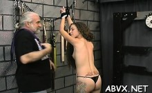 Bizarre Slavery Video With Cutie Obeying The Dirty Play