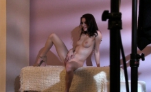 Stunning Emo Beauties Strips During Casting
