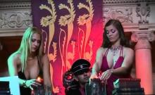 Rita Faltoyano loves teaching girls how to take a cock...