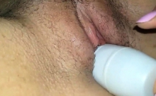 Spray Can in my pussy