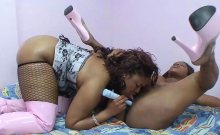Ebony Beauties Know How To Pleasure Themselves