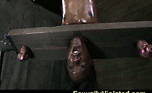 Anna Foxxx inverted and throat fucked 2