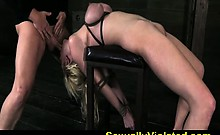 bound fucked and deep throated part 1