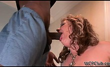 Blonde milf loves to be fucked from behind