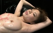 Japanese Slave Toyed With