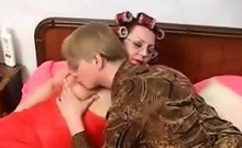 Russian Granny Getting Fucked