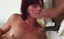 Fist fucked granny Carla
