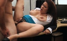 Milf sells her hubbys stuff for his bail