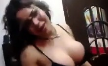 Naughty Arab Chick Strips And Dances