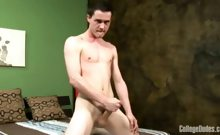 College Dudes - Cj Busts A Nut
