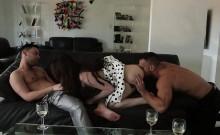 Aspen Oras perfect threesome sex ever