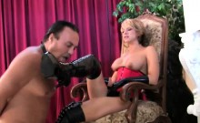 Mistress Mya Vicious dominates