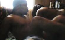 Black hottie with a big round ass gets banged hard by a dark stallion
