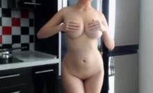 Perfect Natural Big Tits On This Webcam Girl