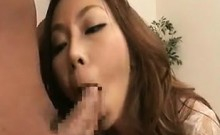 Striking Japanese girl with a fabulous ass engages in hot s