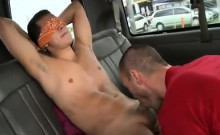 Gay hunks with g string butt movies Dick On The BaitBus!