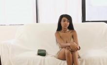 Ebony with real big tits fucked hard