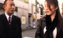 Striking Asian lady drops her clothes and engages in a hot