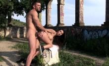 CHICAS LOCA - Latina teen Frida Sante loves a outdoor fuck