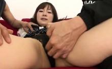 Casting turns wild for horny Hitomi Fujihara