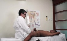 Asian Boy Russel Tickle and Stroke