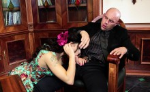 PINUP SEX - Lustful sex with pinup Billie Star and Leny Evil
